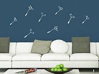 Zusatzsamen Set Wandbanner Pusteblumen | Bild 4