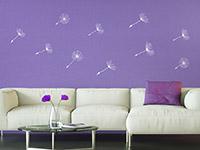Wandtattoo Zusatzsamen Set Pusteblume im Wind | Bild 4