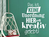 Wandtattoo Kreatives Leben | Bild 4