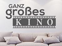 Wandtattoo Ganz großes Kino | Bild 2