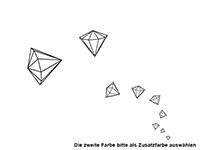 Wandtattoo Diamanten Set Motivansicht