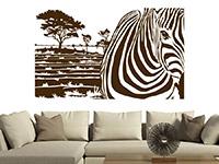 Wandbanner Zebra Motiv | Bild 3