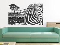 Wandbanner Zebra Motiv | Bild 4