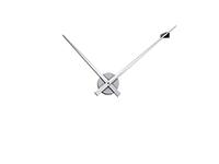 Wandtattoo Uhr Modernes Design Motivansicht