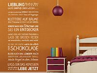 Wandtattoo Liebling | Bild 4
