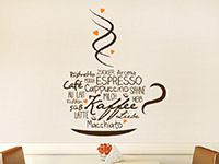 Wandtattoo Kaffeeliebe | Bild 2