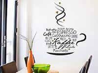 Wandtattoo Kaffeeliebe | Bild 3