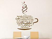 Wandtattoo Kaffeeliebe | Bild 4