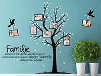 Wandtattoo Fotobaum Familie | Bild 4