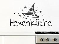 Wandtattoo Hexenküche mit Hut | Bild 3