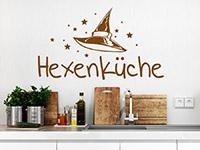 Wandtattoo Hexenküche mit Hut | Bild 4