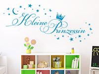 Wandtattoo Kleine Prinzessin im Kinderzimmer