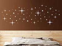 Wandtattoo Funkelnde Sterne | Bild 2