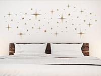 Wandtattoo Funkelnde Sterne | Bild 3
