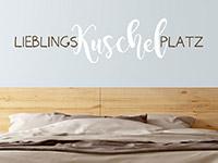 Wandtattoo Lieblings-Kuschel-Platz | Bild 2
