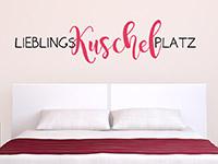 Wandtattoo Lieblings-Kuschel-Platz | Bild 3