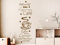 Wandtattoo Café Liebe | Bild 2