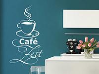 Wandtattoo Café Zeit | Bild 2