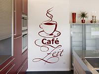 Wandtattoo Café Zeit | Bild 4