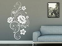 Wandtattoo Blütenornament | Bild 2