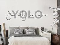Wandtattoo Yolo | Bild 3