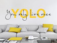 Wandtattoo Yolo | Bild 4