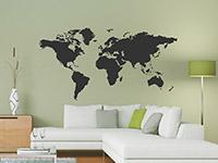 Wandtattoo Weltkarte | Bild 3