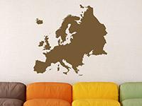 Wandtattoo Europa Karte | Bild 3
