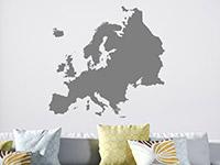 Wandtattoo Europa Karte | Bild 4