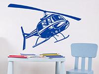 Wandtattoo Helikopter | Bild 3