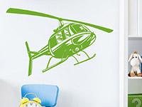 Wandtattoo Helikopter | Bild 4