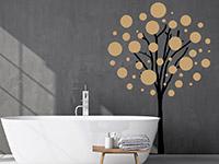 Wandtattoo Baum mit Luftblasen | Bild 2