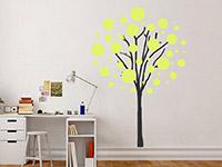 Wandtattoo Baum mit Luftblasen | Bild 4
