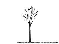 Wandtattoo Baum mit Kreisen Motivansicht