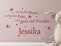Wandtattoo Ein bisschen Mama... | Bild 2