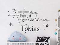 Wandtattoo Ein bisschen Mama... | Bild 3