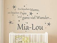 Wandtattoo Ein bisschen Mama... | Bild 4