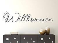 Wandtattoo Schriftzug Willkommen | Bild 4