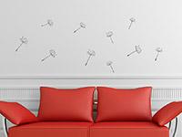 Wandtattoo Zusatzsamen Set Pusteblumen | Bild 2