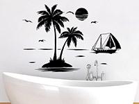 Wandtattoo Einsame Insel | Bild 2