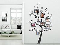 Wandtattoo Baum Fotorahmen | Bild 2
