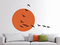Wandtattoo Zugvögel im Sonnenlicht | Bild 3