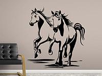 Wandtattoo Pferde-Freunde | Bild 2