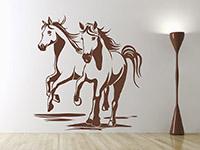 Wandtattoo Pferde-Freunde | Bild 4