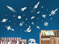 Wandtattoo Weltraum Set | Bild 2