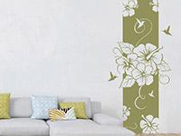 Wandbanner Hibiscus Blüte | Bild 3