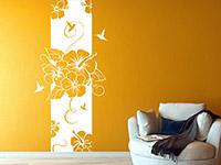 Wandbanner Hibiscus Blüte | Bild 4