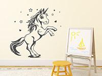 Wandtattoo Einhorn Unicorn | Bild 3
