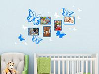 Wandtattoo Schmetterlinge mit Fotorahmen | Bild 4