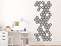 Wandbanner Hexagone | Bild 2